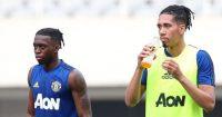 Aaron Wan-Bissaka Chris Smalling Man Utd