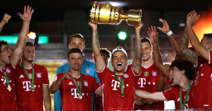 Philippe Coutinho Bayern Munich Liverpool