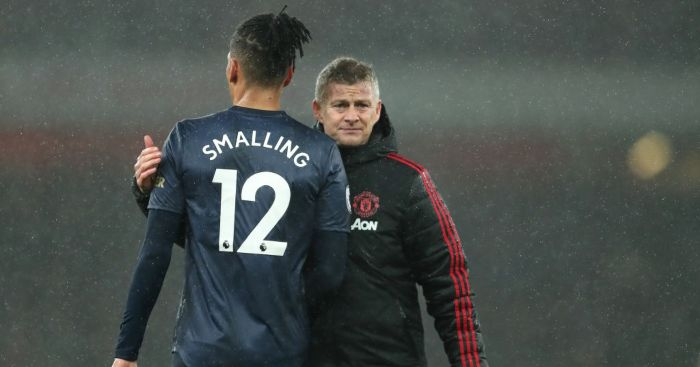Chris Smalling Ole Gunnar Solskjaer Man Utd