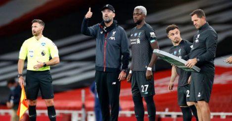 Jurgen Klopp Divock Origi Xherdan Shaqiri Liverpool