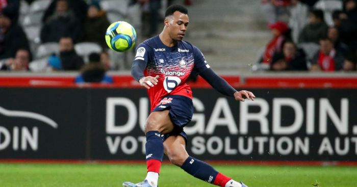 Lille defender Gabriel Magalhaes Man Utd