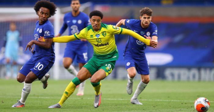 Jamal Lewis Norwich City Liverpool