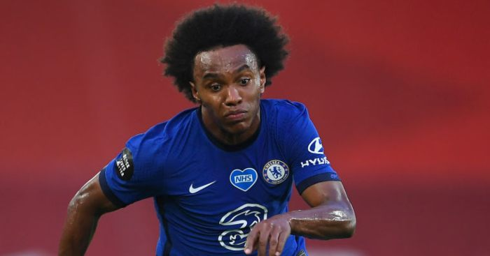 Willian Chelsea Arsenal