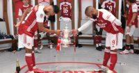 Pierre-Emerick Aubameyang Arsenal Alexandre Lacazette Liverpool