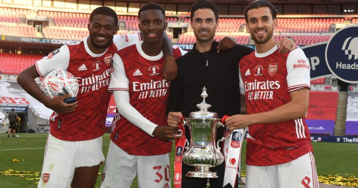 Dani Ceballos Ainsley Maitland-Niles Arsenal