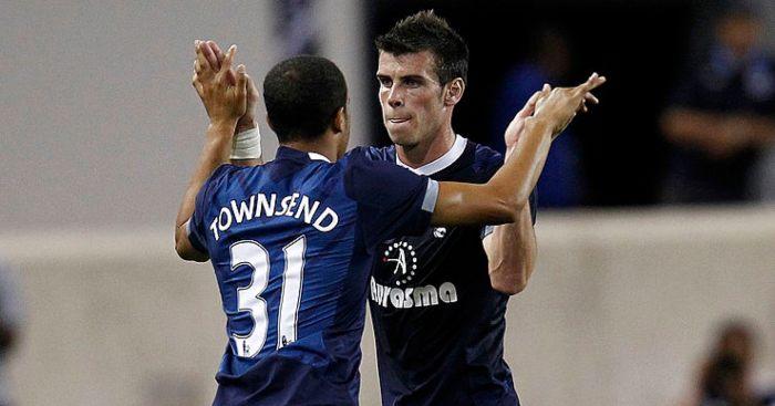 Gareth Bale Andros Townsend Tottenham