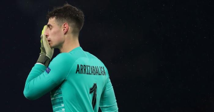 Kepa-arrizabalaga-chelsea Premier League