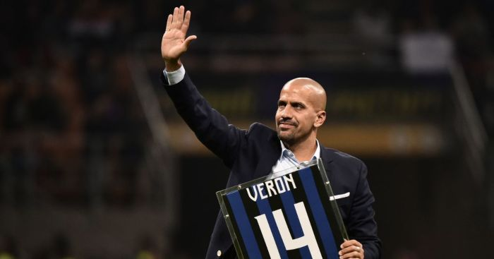 Juan Sebastian Veron Inter Milan Man Utd