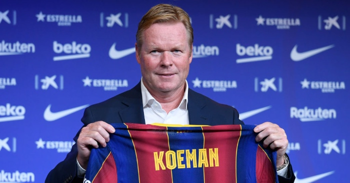 Barca boss Koeman only wants Messi 'if he maintains level'