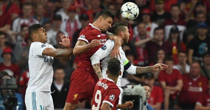 Dejan Lovren Sergio Ramos Liverpool Real Madrid