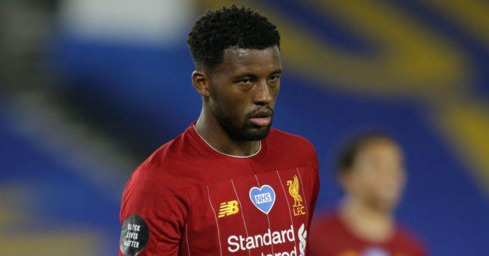 Georginio Wijnaldum Liverpool