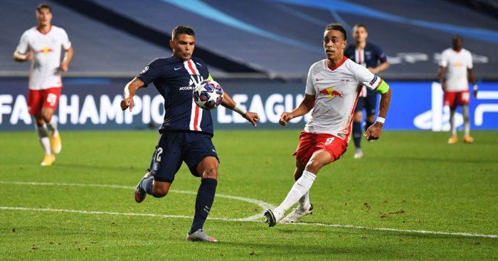 Thiago Silva PSG Chelsea