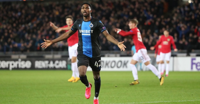 Arsenal, Wolves and Inter want £36m Club Brugge forward