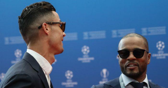 Cristiano Ronaldo Patrice Evra Man Utd