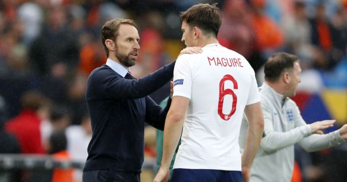Gareth Southgate Harry Maguire England Man Utd