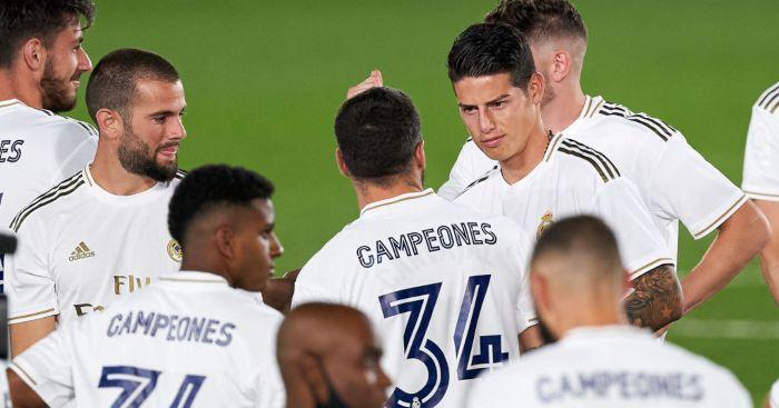James Rodriguez Real Madrid Everton