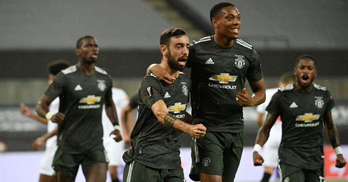 Bruno Fernandes Anthony Martial Man Utd