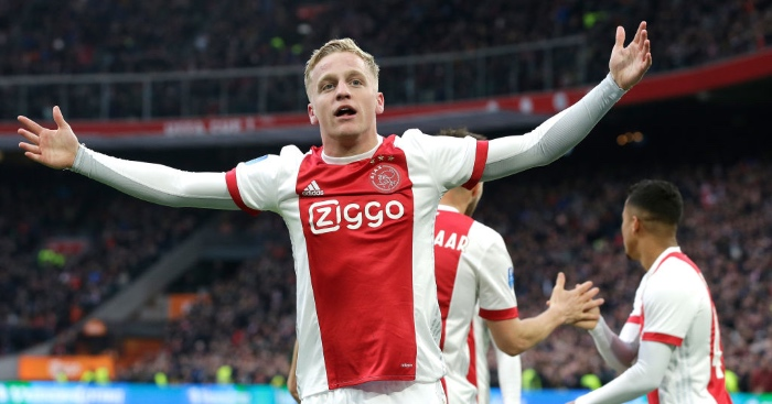Have Man Utd Signed Van De Beek To Sit On The Bench Football365