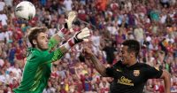 David de Gea Thiago Alcantara Man Utd Barcelona