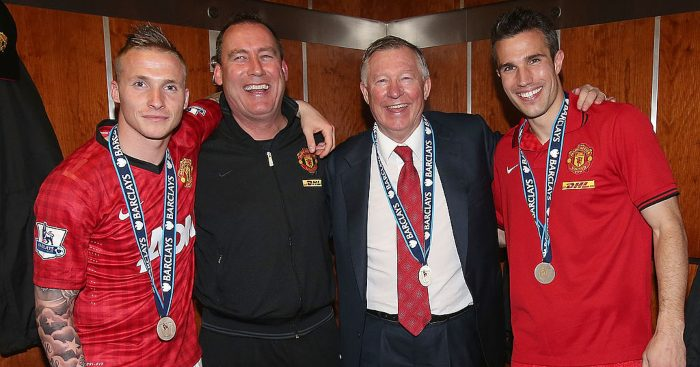 Rene Meulensteen Sir Alex Ferguson Man Utd