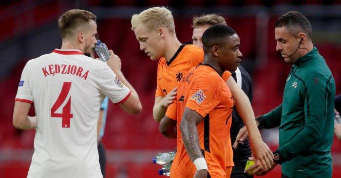 Steven Bergwijn Donny van de Beek Holland Man Utd