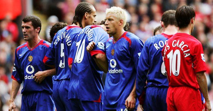 Alan Smith Roy Keane Man Utd