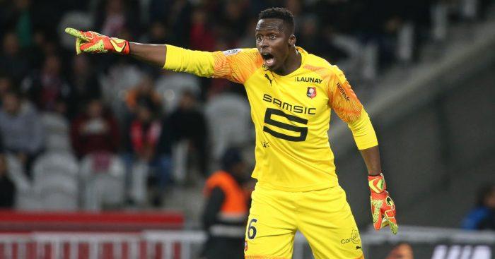 Edouard Mendy Rennes Chelsea