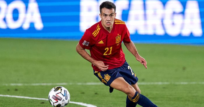 Sergio Reguilon Spain Man Utd