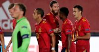 Sergio Ramos Thiago Alcantara Sergio Reguilon Spain Man Utd