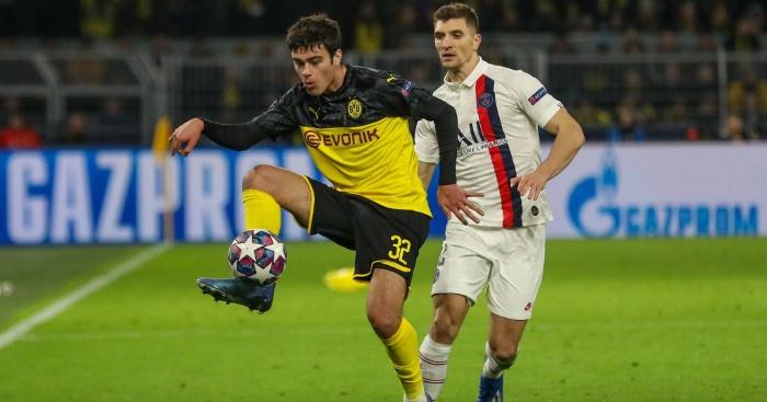 Giovanni Reyna Dortmund Liverpool