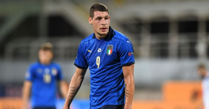 Andrea Belotti Italy Spurs