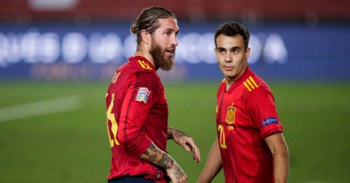 Sergio Ramos Sergio Reguilon Spain Man Utd