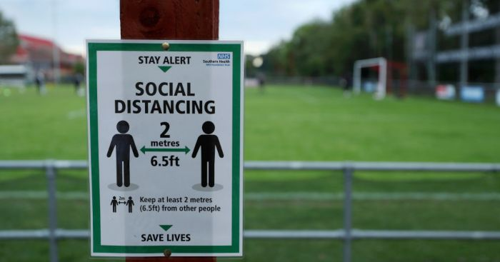 EFL social distancing