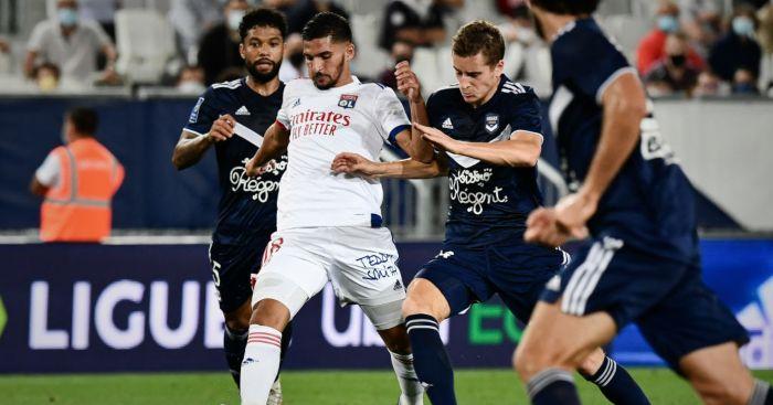 Houssem Aouar Lyon Arsenal