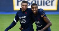 Kylian Mbappe Presnel Kimpembe France Man Utd