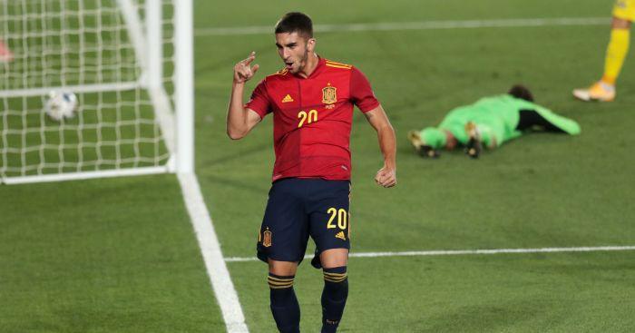 Ferran Torres Spain Man Utd