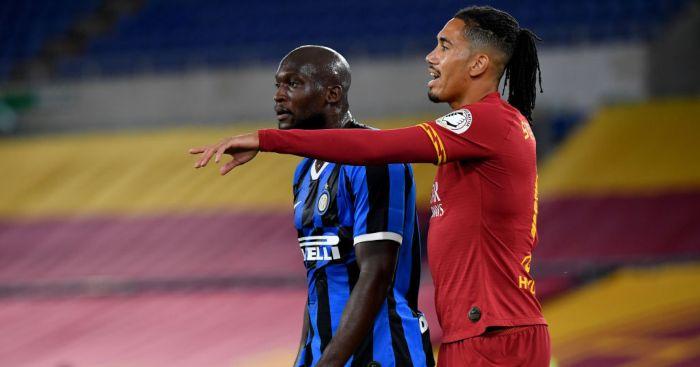 Chris Smalling Romelu Lukaku Inter Milan Roma