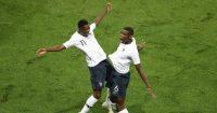Ousmane Dembele Paul Pogba France Man Utd