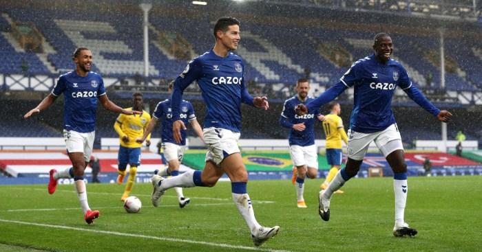 Rodriguez Everton Brighton Ancelotti