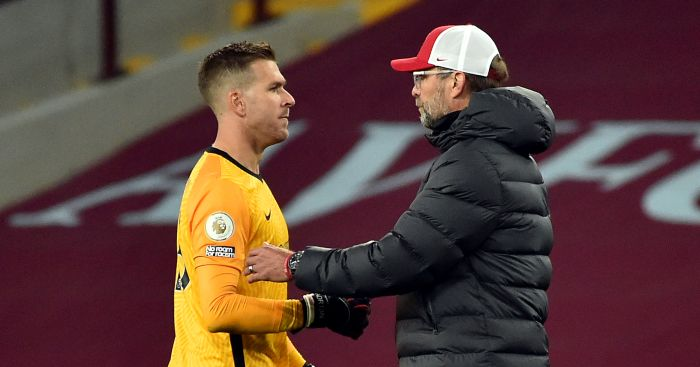 Klopp 'not interested' in signing new goalkeeper thumbnail