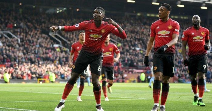 Paul Pogba Anthony Martial Romelu Lukaku Man Utd