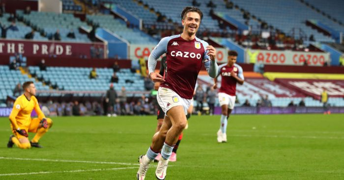 Jack Grealish Aston Villa Spurs