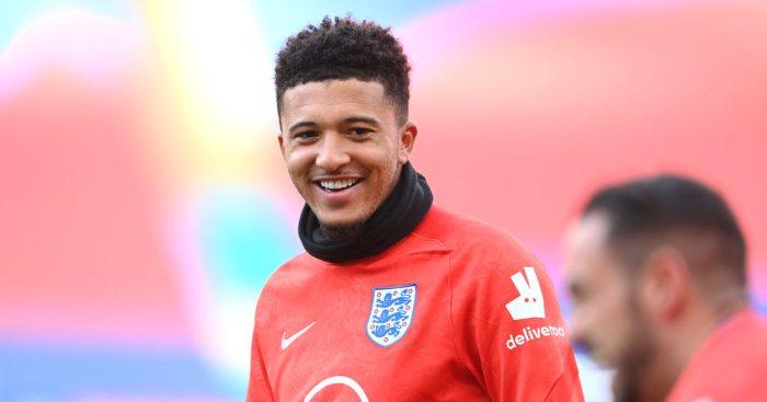 Jadon Sancho England Man Utd