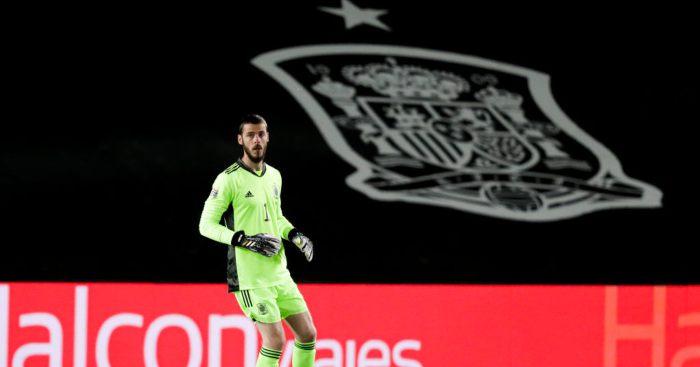 David de Gea Spain Man Utd