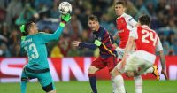 Lionel Messi Barcelona Arsenal