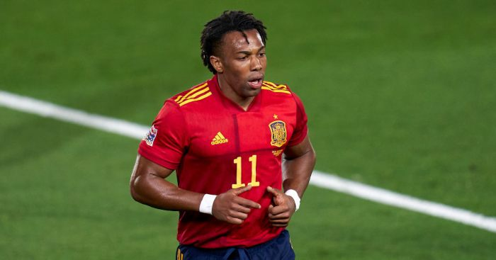 Adama Traore Spain Liverpool