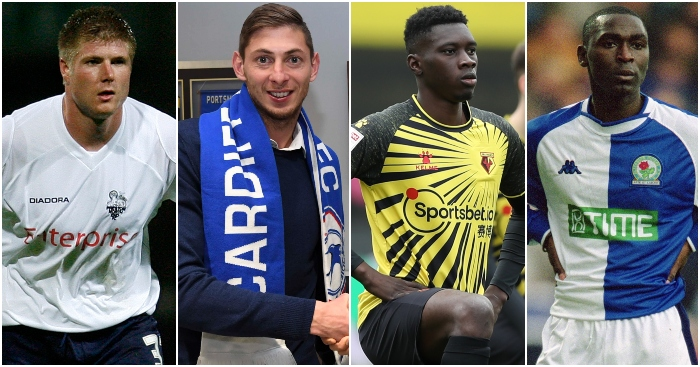 Championship-transfers-record-signings-neil-mellor-emilano-sala-ismaila-sarr-andy-cole