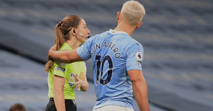 Pep defends 'nicest guy' Aguero over conduct with Massey-Ellis