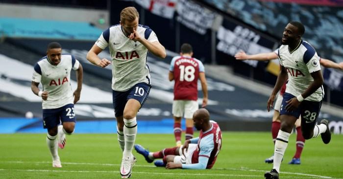 Tottenham West Ham Kane