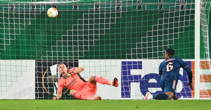 Arsenal boss Arteta warns Leno after his mistake in Rapid Vienna win